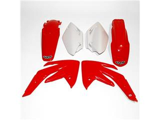 UFO Plastic Kit OEM Color Red/White Honda CRF150R/150F