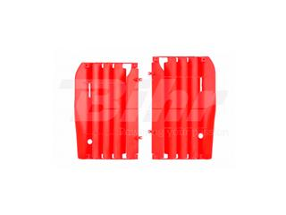 Aletines de radiador Polisport 8455700002 rojo Honda