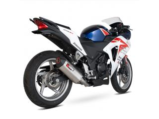 Silencieux Scorpion Serket REd Power Droit inox Honda CBR250R