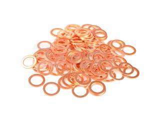Arruela cobre 6X10X1,0 saco de 100 peças R060100BC/100 - 63307