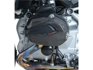 Left carbon / Kevlar® engine casing protection R&G RACING BMW R1200GS