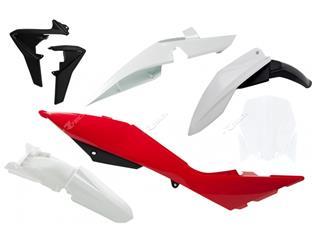 Kit plastique RACETECH couleur origine blanc/rouge/noir Husqvarna TE449/511  - 7804884