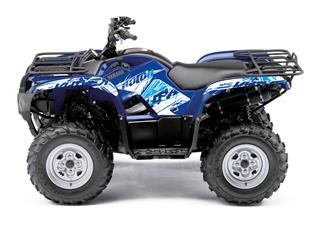 KUTVEK Rotor Graphic Kit Blue Yamaha Grizzly 550/700