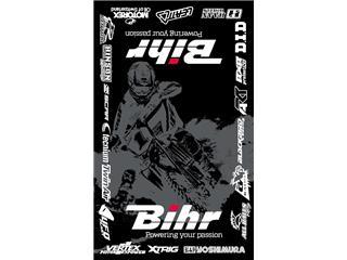 BIHR Home Track Bodenmatte  Fahrerlager 160 x 100cm schwarz - 980090