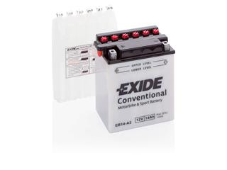 Batteri Exide Eb14-A2 Conventional  Inklusive Syrapack