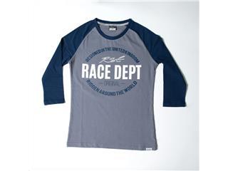 T-shirt (Mulher) RST ORIGINAL 1988 Cinzenta/Azul, Tamanho 3XL