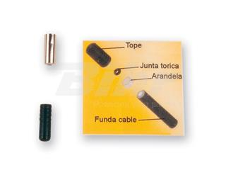 Tope funda 5mm junta torica interior