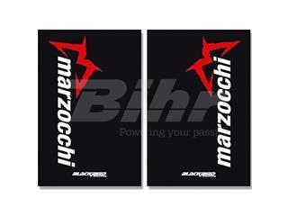 Adhesivos de horquilla Blackbird Marzocchi negro 25015M