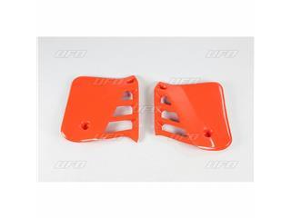 Ouïes de radiateur UFO orange Honda CR250R - 78132851
