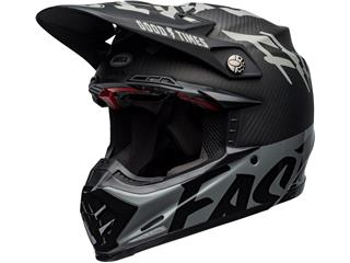 Casque BELL Moto-9 Flex Fasthouse WRWF Black/White/Gray taille S - 801000300168