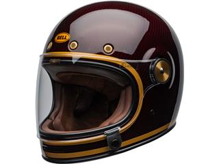 BELL Bullitt Carbon Helmet Transcend Gloss Candy Red/Gold Size L