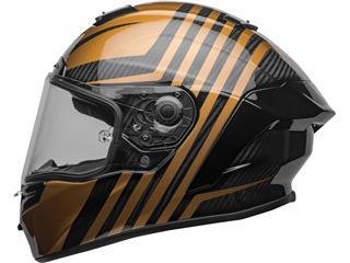 BELL Race Star Flex DLX Helmet Mate/Gloss Black/Gold Size L - 768e4015-6323-4d9f-a9db-96fd9830897b