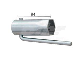 Llave de bujía para ciclomotores plegable Hex.21mm - 19340