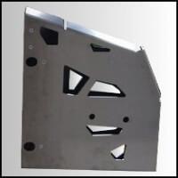 Proteção de estribo AXP, alumínio, Can-Am Renegade