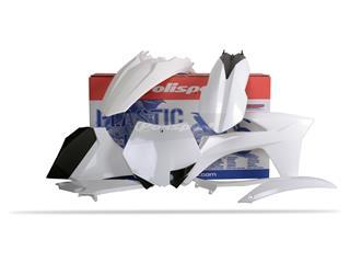 Kit plastique POLISPORT blanc KTM - PS311W11