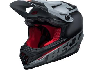 BELL Moto-9 Youth Mips Helm Glory Black/Gray/Crimson Größe YS/YM - 801000540168