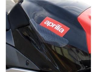 SLIDERS VAN DE TANK R&G RACING IN CARBON VOOR APRILIA