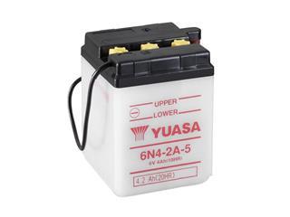 Batterie YUASA 6N4-2A-5 conventionnelle