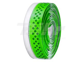 Fita de guiador Velo, em PU, furada, verde/branca - 35492