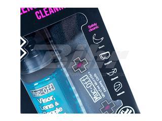 Kit Limpiador antibacteriano lentes y cascos Muc-Off Helmet & Visor Cleaner Spray 35ml + paño + bolsa transporte - 77c055a2-84f5-4178-8bf9-b88a82c1e410