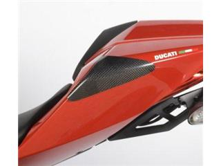 R&G RACING Rear Shell Sliders Carbon Ducati Panigale 1199
