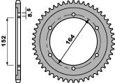 Kettenrad Stahl 42 Zähne PBR SR500