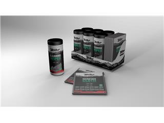 Pack Lingettes nettoyantes BIHR Multi-usages Promo 5 + 1 Gratuit  Carton de 6 Boîtes de 50  lingettes et 6 microfibres  - P55040015