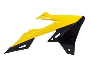 Ouïes de radiateur RACETECH jaune/noir Suzuki RM-Z450 - 784983