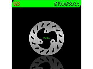 Disque de frein NG 023 rond fixe - 350023