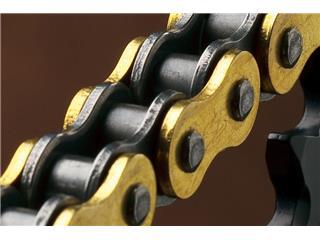 Chaîne de transmission RENTHAL 420 R1 Works or/noir 128 maillons - 78e457e3-f918-482e-8138-41e2b3fa50ce