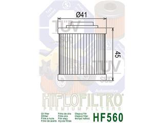 Filtre à huile HIFLOFILTRO HF560 Can Am DS450 - 79082922-b535-4a34-abea-c30b50bd6752