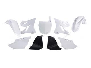 Kit plastique RACETECH Replica (2015) blanc Yamaha YZ125/250 - 7804986