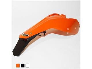Garde-boue arrière + plaques latérales UFO orange KTM EXC/EXC-F