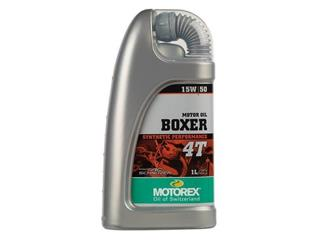 Huile moteur MOTOREX Boxer 4T 15W50 100% synthétique 1L - 551278