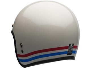 Casque BELL Custom 500 DLX Stripes Pearl White taille L - 79946109-15c5-493c-9979-f0d2c309682b