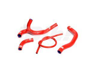 Kit manguitos Samco Honda rojo HON-28-RD