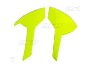 Plaques latérales UFO jaune fluo Husqvarna TC-FC - 78603965