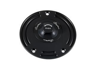 LIGHTECH Fuel Tank Cap Black/Black Quick Lock Suzuki Gsx-S