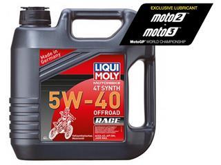 Garrafa de 4L aceite Liqui Moly 100% sintético 4T Synth 5W-40 Off road Race 3019