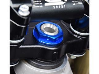 Lenksäulenmutter SCAR blau Kawasaki KX250F