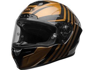 BELL Race Star Flex DLX Helmet Mate/Gloss Black/Gold Size L - 7a0f8384-8346-4e5e-be13-3d3e30daa03a