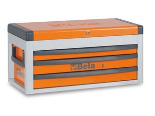 BETA Portable Tool Chest with three drawers Orange