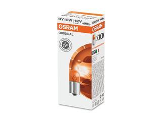 OSRAM RY10W Original Line Signal Lamp 12V/10W Base BAU15s Orange 10pcs - 7a36045a-31a9-4b44-b185-6360fd7186e0