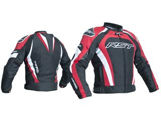 RST TracTech Evo 3 Jacket CE Textile Red Size L