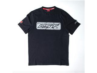 T-shirt (Homem) RST LOGO BLOCK Preta/Cinzenta, Tamanho S