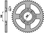 Kettenrad Stahl 49 Zähne PBR XL125