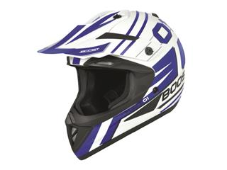 BOOST B690 Helmet Force 01 White/Blue Size M