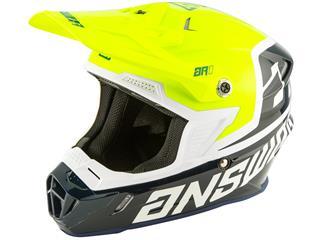 ANSWER AR1 Voyd Youth Helmet Midnight/Hyper Acid/White Size YS - 801000321588