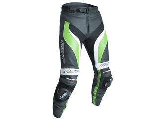 RST Tractech Evo 3 Pants CE Leather Green Size S Men