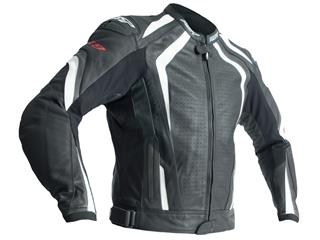 RST R-18 Jacket CE Leather White Size S Men